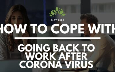 How to Cope with Returning to Work After Coronavirus