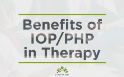 Benefits of IOP/PHP in Therapy